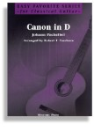 Canon in D for Easy Classical Guitar