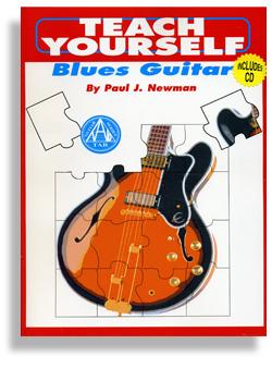 teach yourself blues guitar wtth cd. Black Bedroom Furniture Sets. Home Design Ideas