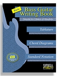 Basic Bass Guitar Writing Book with Tab & Standard Staves