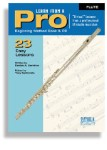 Learn From A Pro Series For Flute (Book and CD)