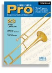 Learn From A Pro Series For Trombone & Baritone Horn (Book and CD)