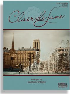 claire de lune clareint and piano debussy pdf