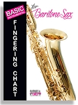 BASIC FINGERING CHART FOR BARITONE SAX