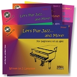 Let's Play Jazz - Complete Method with CD - 4 Books in One