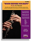 KNOW BEFORE YOU BLOW –  Jazz Modes for Clarinet