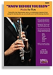 KNOW BEFORE YOU BLOW –  Jazz Modes for Flute