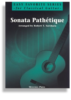 Sonata Pathetique for Easy Classical Guitar