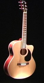 ROY CLARK'S CUSTOM CUTAWAY GUITAR / LEFT HAND MODEL