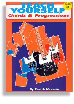 Teach Yourself Chords and Progressions wtth CD