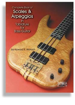 Scales And Arpeggios In Tab For Bass Guitar