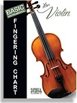 BASIC FINGERING CHART FOR VIOLIN