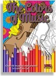 The Colors of Music: Middle School to Adult Coloring Book
