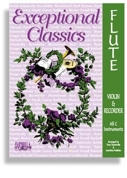 Exceptional Classics For Flute or Violin with CD