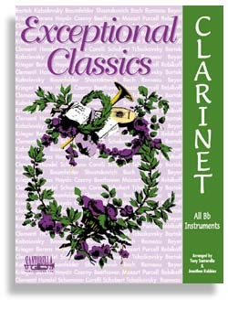 Exceptional Classics For Clarinet with CD