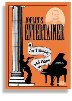 Joplin's Entertainer For Trumpet And Piano