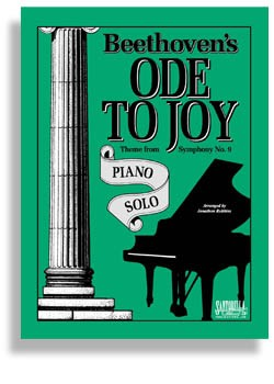 Ode To Joy For Intermediate Solo Piano