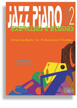 Jazz Piano Exercises & Etudes Book 2 with CD