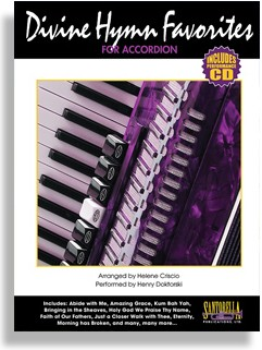 Divine Hymns for Accordion with Performance CD by Henry Doktorski