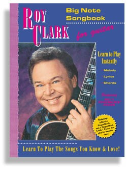 Roy Clark's Bignote TV Songbook for Guitar (wposter & decals)