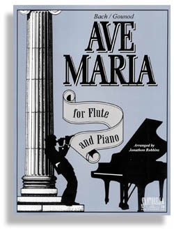 Ave Maria for Flute and Piano (All C)