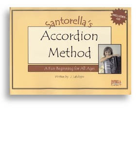 Santorella's Accordion Method Book 1A with CD