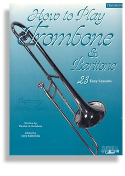 How To Play/Method Book For Trombone/Baritone Horn