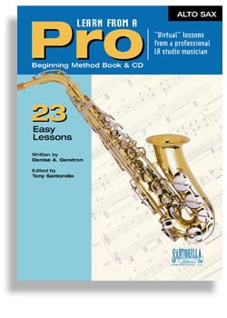 Learn From A Pro Series For Alto Sax (Book and CD)