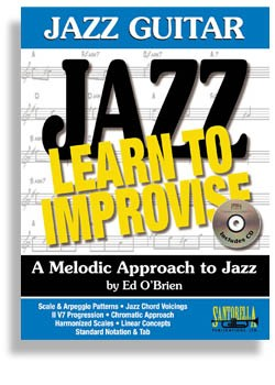 Jazz Guitar - Learn To Improvise with CD