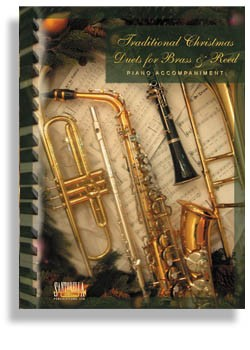 Traditional Christmas Duets For Brass & Reed * Piano Accompaniment