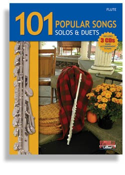 101 Popular Songs for Flute with 3 CDs