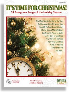 It's Time for Christmas -  Easy Piano Edition with CD