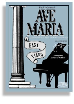 Ave Maria for Easy Piano (Bach/Gounod Edition)
