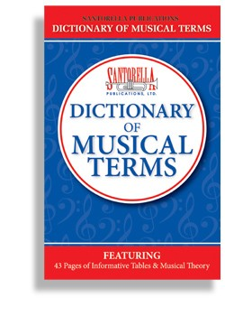 Santorella's Dictionary of Musical Terms